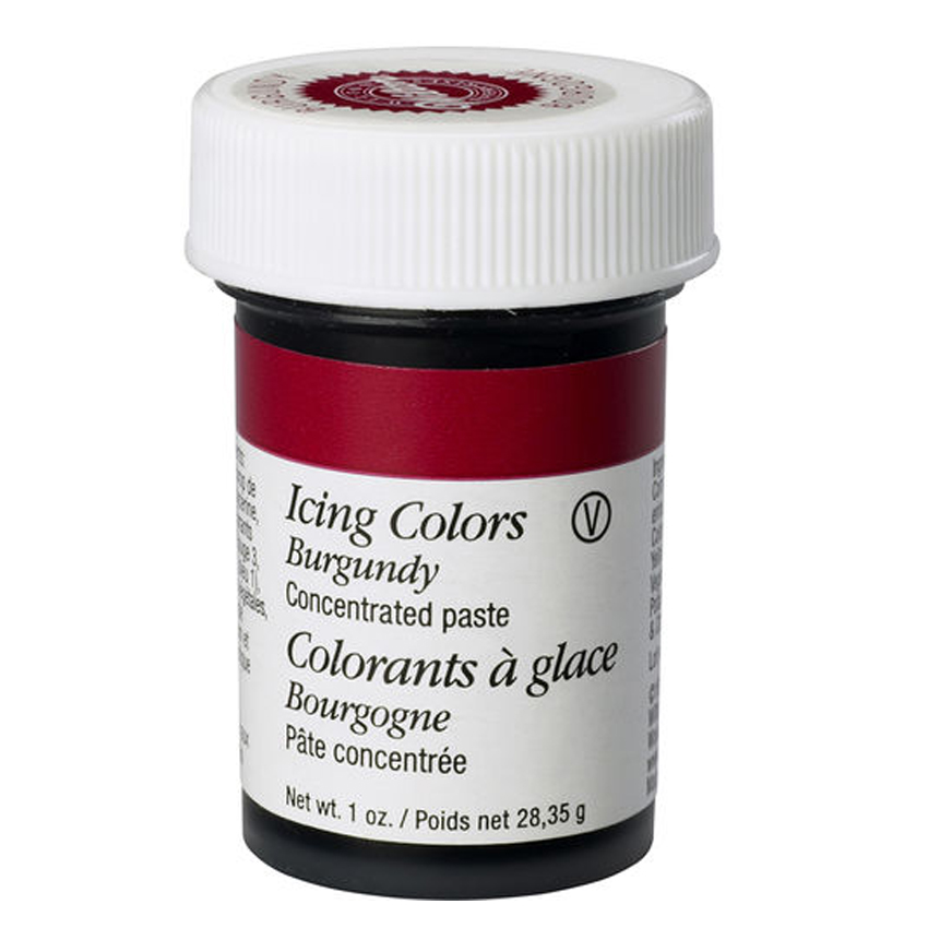 Colorante in gel Wilton Bordeaux - 28 gr