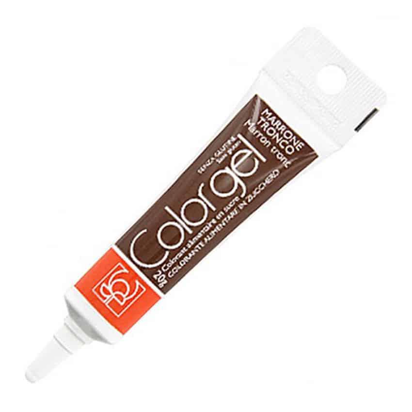 Colorante in gel Modecor Marrone Tronco - 20 gr