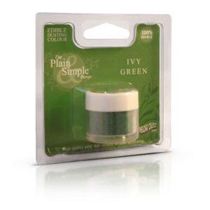 colorante in polvere idrosolubile ivy green rainbow dust