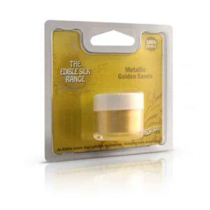colorante in polvere idrosolubile perlato metallic golden sands rainbow dust