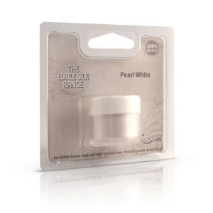 Colorante in polvere idrosolubile perlato Pearl White - Rainbow Dust