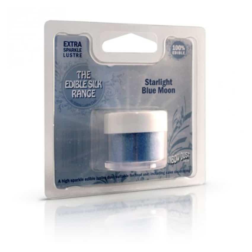 Colorante in polvere idrosolubile perlato Starlight Blue Moon - Rainbow Dust