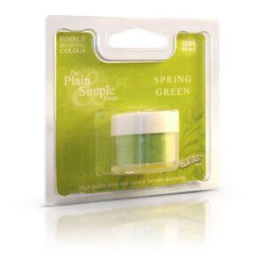 colorante in polvere idrosolubile spring green rainbow dust
