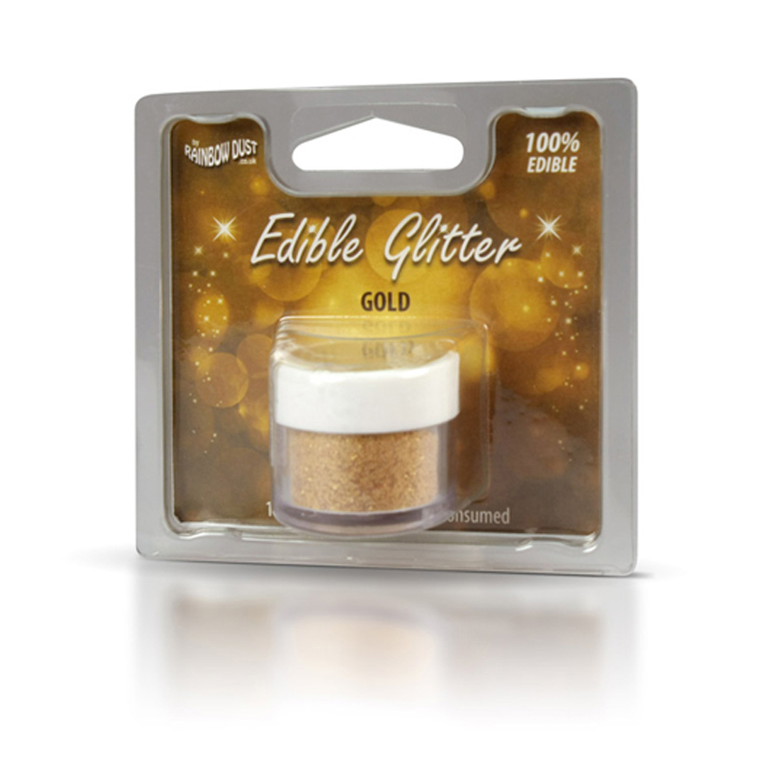 Glitter edibile Gold - Rainbow Dust