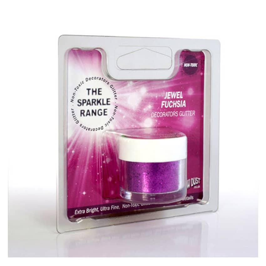 Glitter Sparkles Jewel Fuchsia - 5 gr