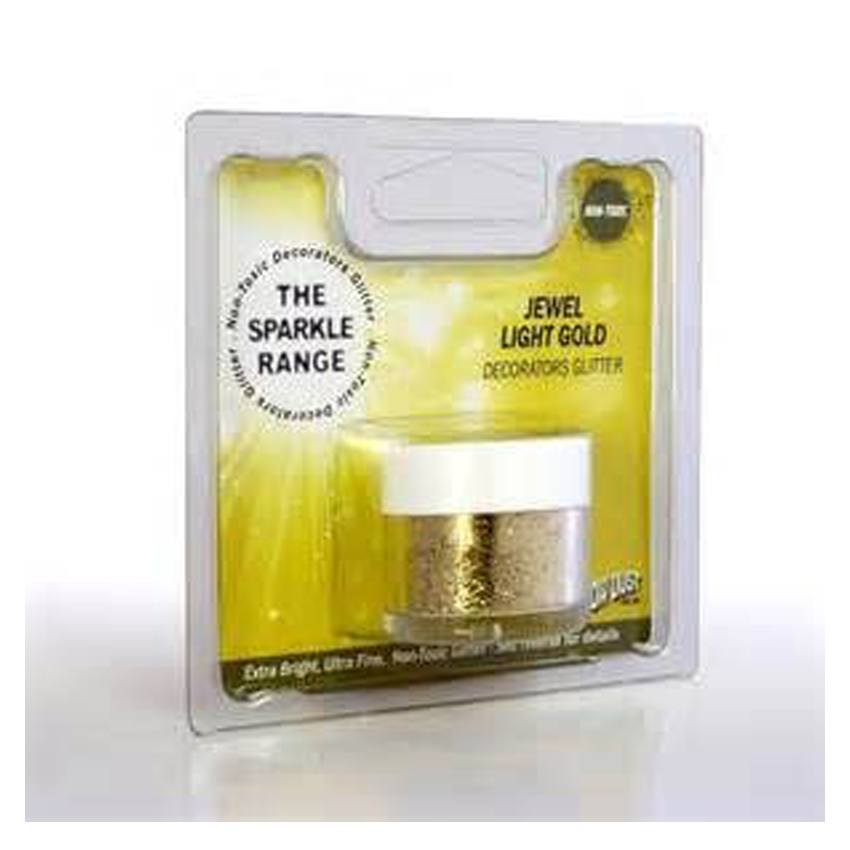 Glitter sparkles Jewel Light Gold - Rainbow Dust
