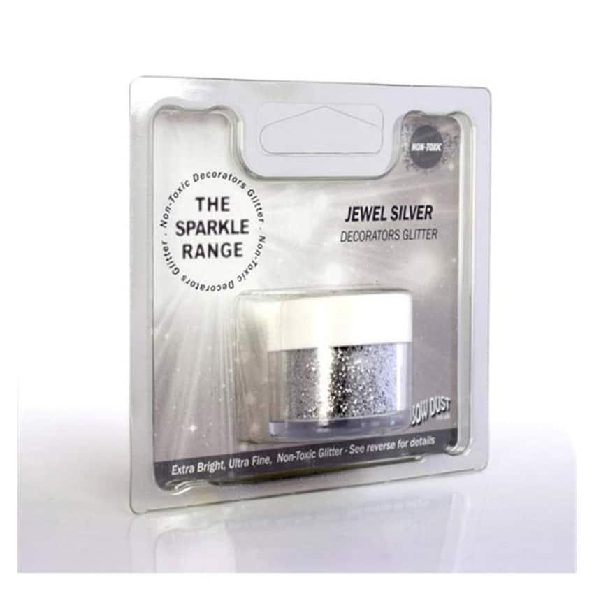 Glitter sparkles jewel silver - Rainbow Dust