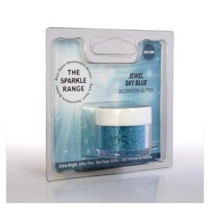 Glitter sparkles jewel sky blue - Rainbow Dust