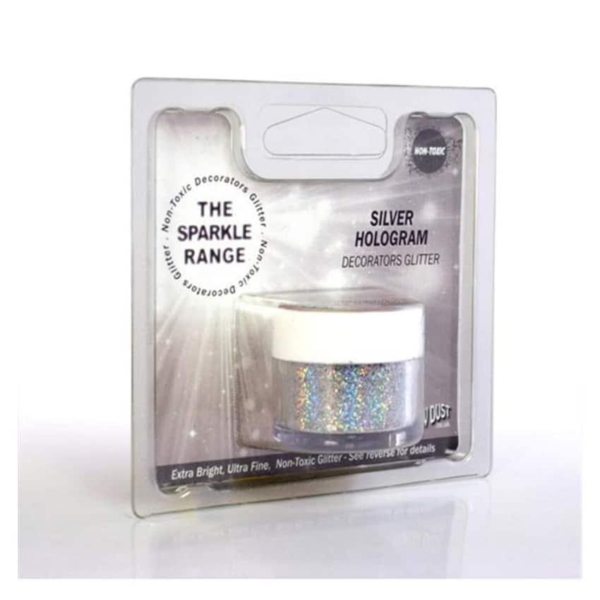 Glitter sparkles silver hologram - Rainbow Dust