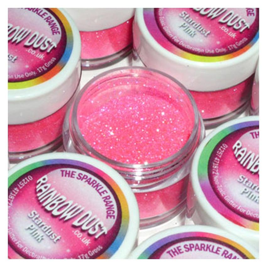 Glitter sparkles stardust pink - Rainbow Dust