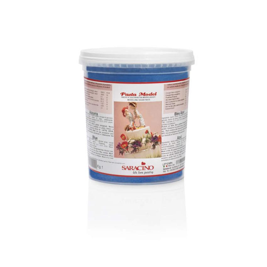 Pasta di zucchero Model azzurra Saracino - 1 Kg