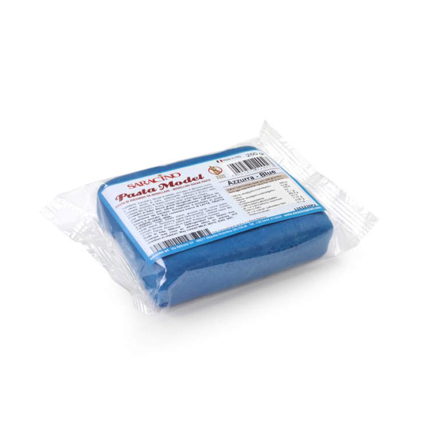 Pasta di zucchero Model azzurra Saracino - 250 gr