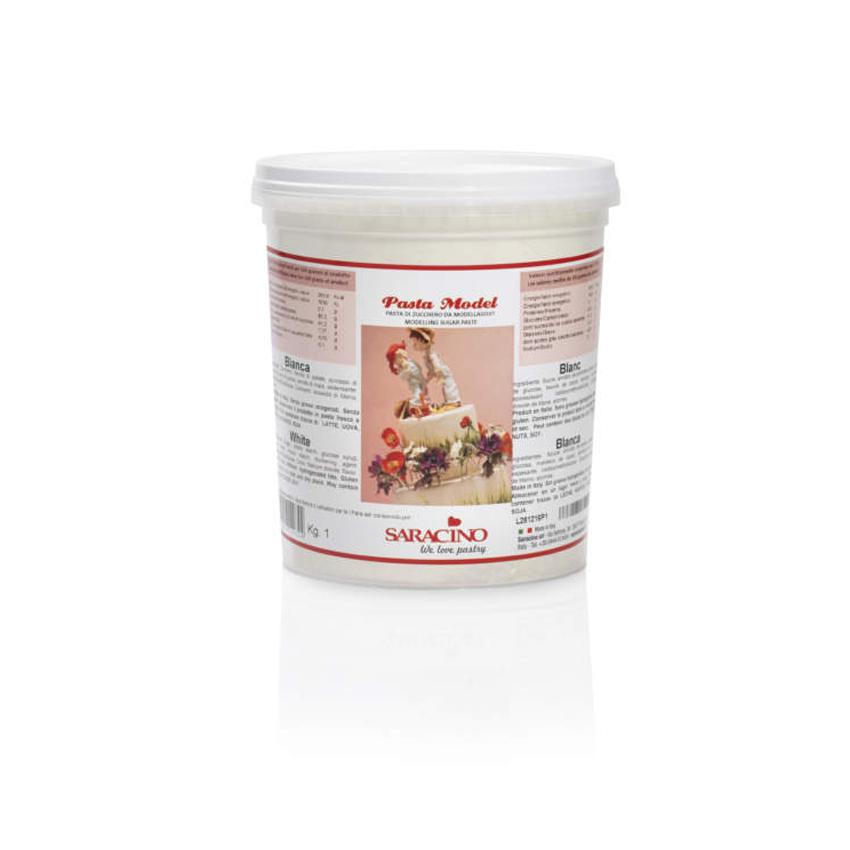 Pasta di zucchero Model bianca Saracino - 1 kg