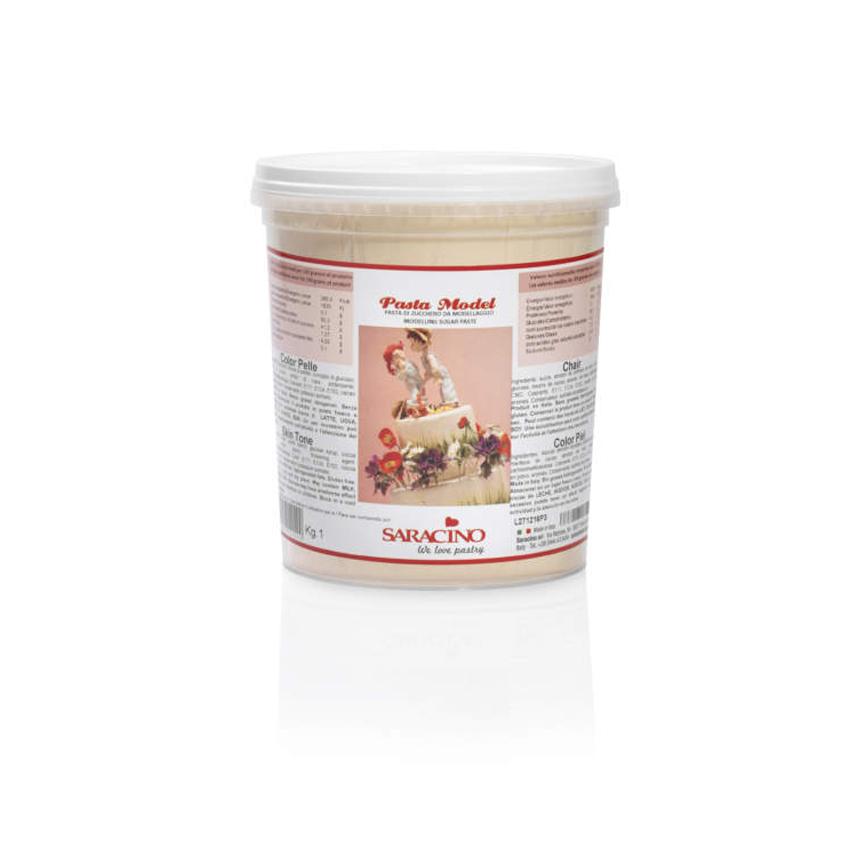 Pasta di zucchero Model color pelle Saracino- 1 Kg