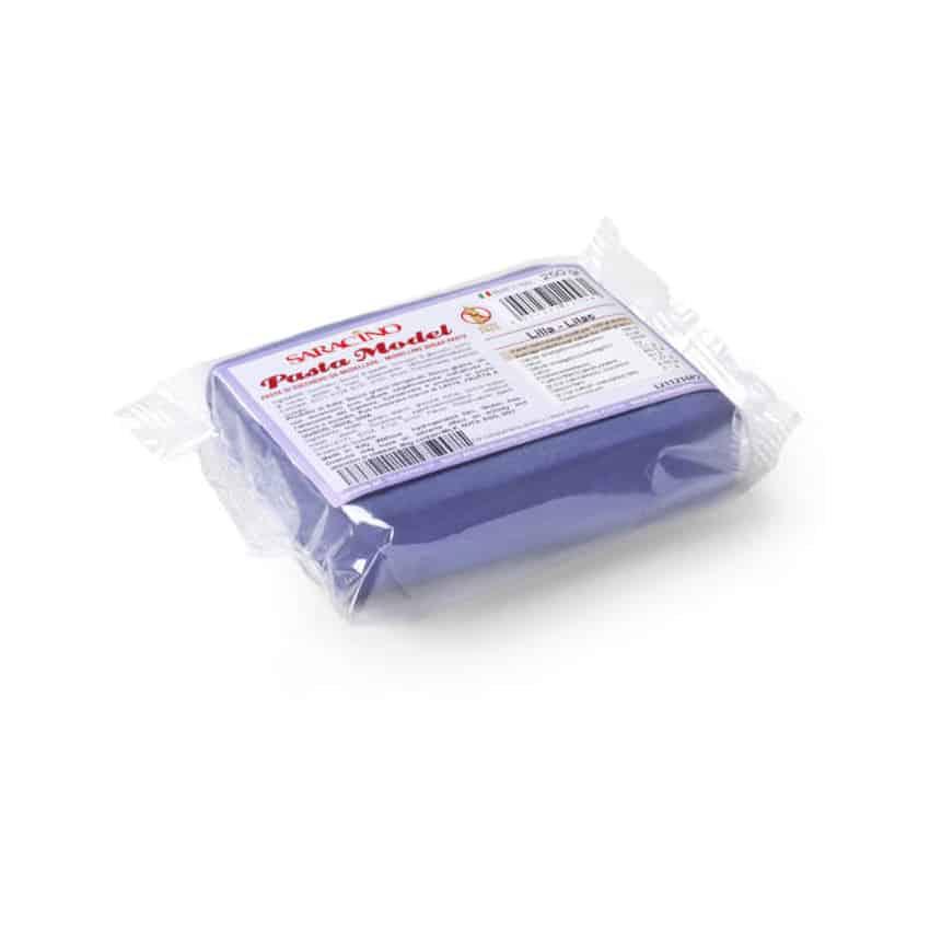 Pasta di zucchero Model lilla Saracino - 250 gr