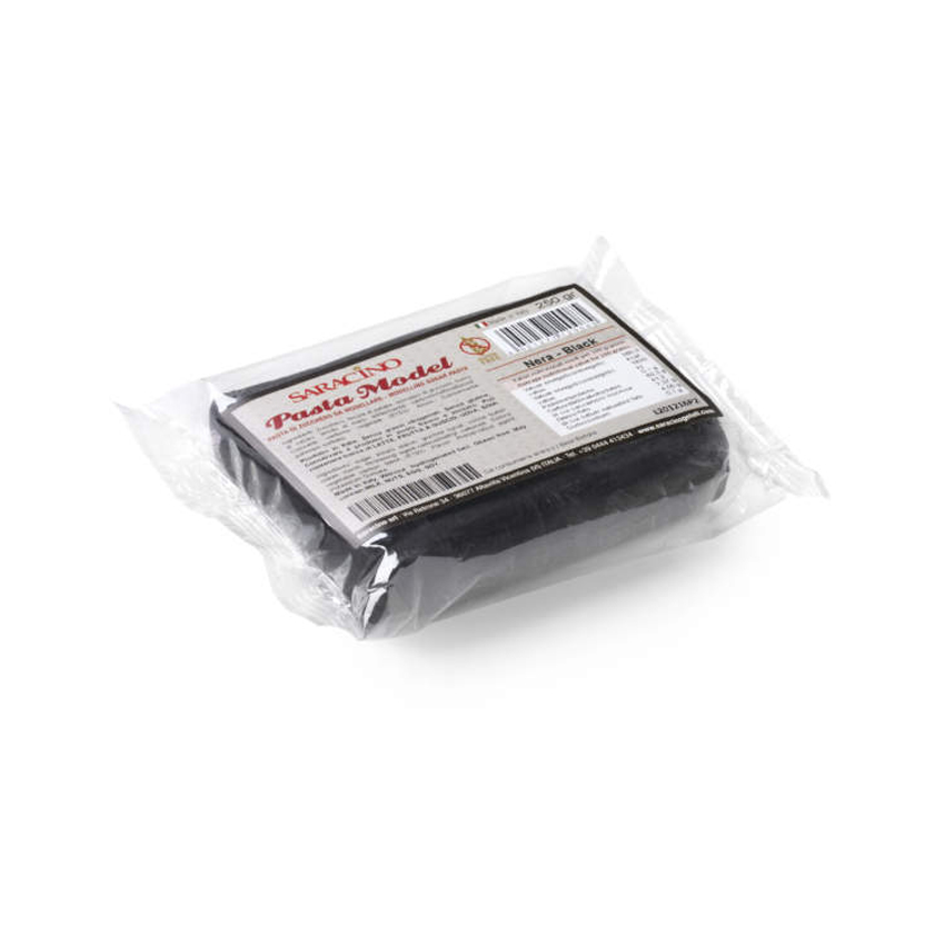 Pasta di zucchero Model nera Saracino - 250 gr