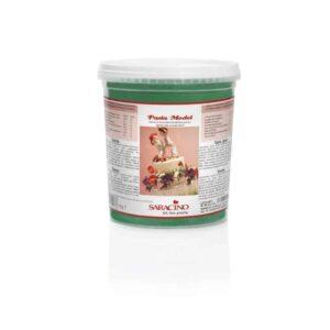 Pasta di zucchero Model verde Saracino - 1 Kg