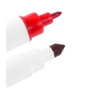 Pennarello alimentare doppia punta Rosso - Modecor