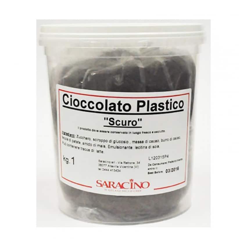 Cioccolato Plastico scuro Saracino - 1Kg