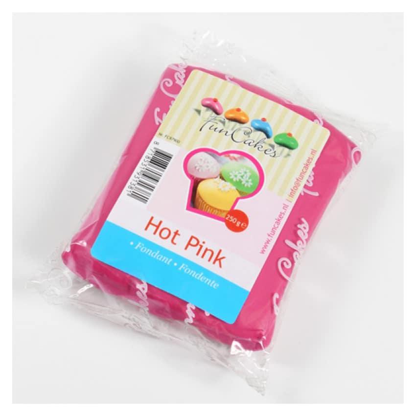 Pasta di Zucchero fucsia Hot Pink FunCakes - 250gr