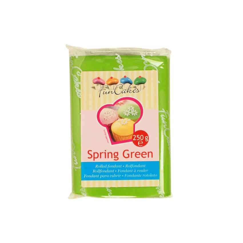 Pasta di Zucchero verde Spring Green FunCakes - 250gr