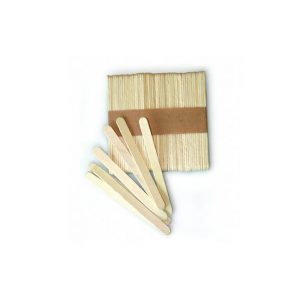 Set 100 mini bastincini in legno Silikomart