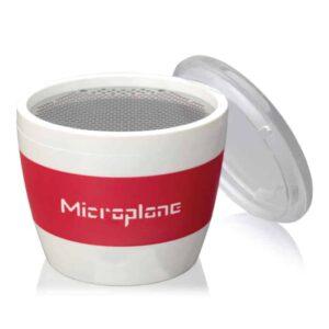 Grattugia cup per spezie rosso Microplane