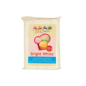Pasta di zucchero bianca bright white FunCakes 250gr