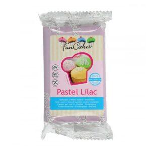 Pasta di zucchero da copertura lilla Pastel Lilac Funcakes - 250 gr
