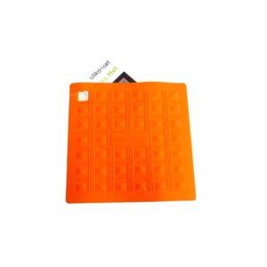 Presina in silicone Miss Hot arancio Silikomart ACC071