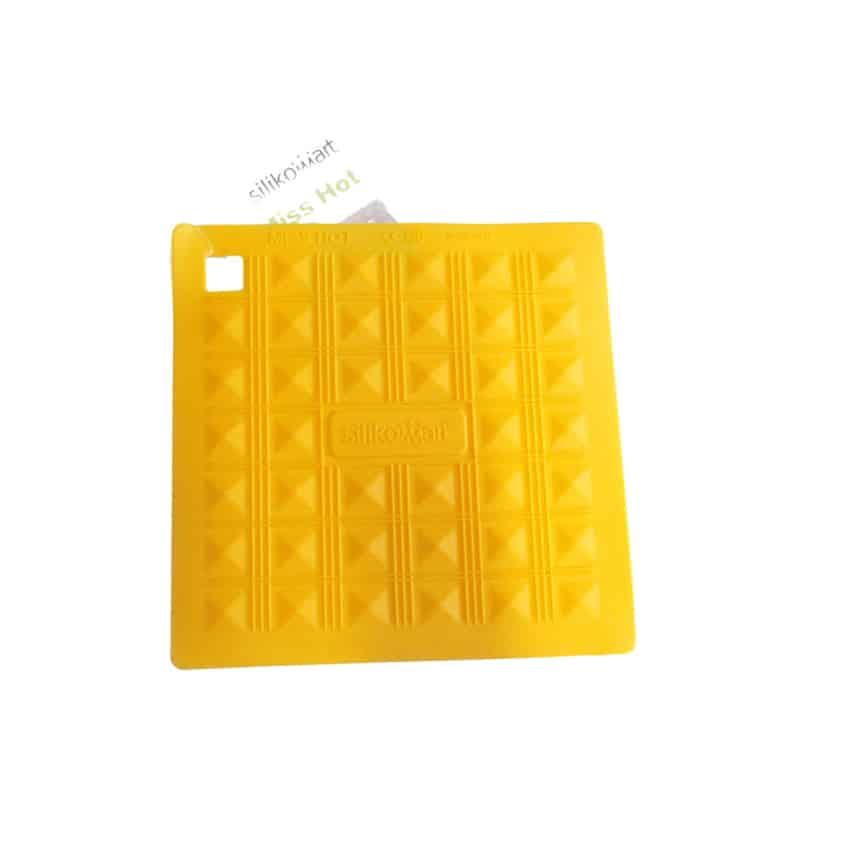 Presina in silicone Miss Hot giallo Silikomart ACC071