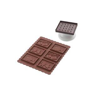 Stampo biscotti in silicone Cookie Gnam Gnam Silikomart CKC04 SLIM