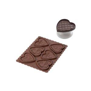 Stampo biscotti Cookie Hearts Silikomart CKC03