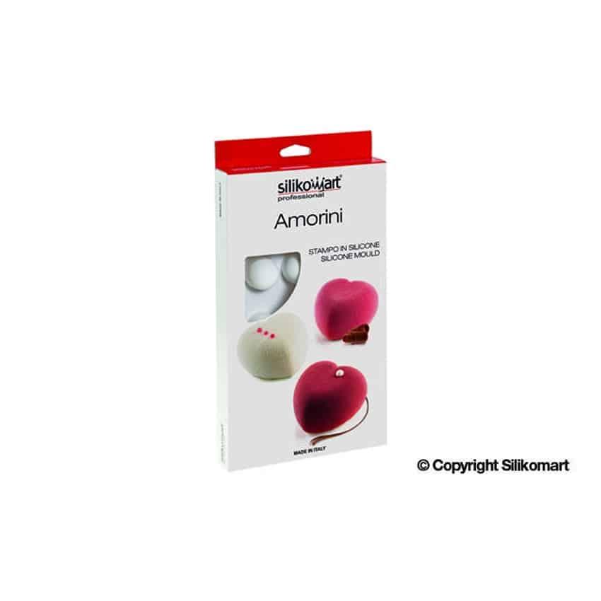 Stampo in silicone Amorini Silikomart