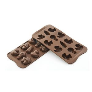 stampo silicone cioccolatini choco baby scg31 silikomart