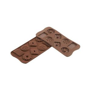 Stampo in silicone Choco Biscuits Silikomart SCG25