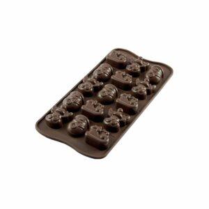 Stampo in silicone Choco Winter Silikomart SCG23