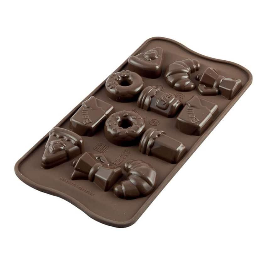 Stampo in silicone colazione good morning silikomart for Attrezzi cucina in silicone