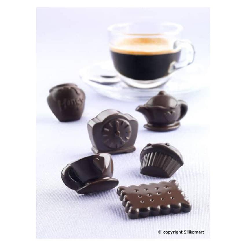 Stampo in silicone Teatime Silikomart SCG17