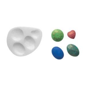 Stampo in silicone pietre preziose Precious Stones SLK184