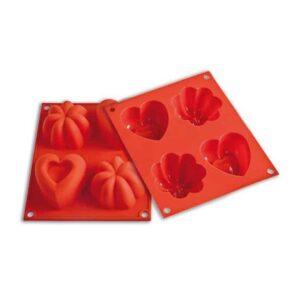 Stampo in silicone cuori charlotte Happy Love Silikomart HSF02