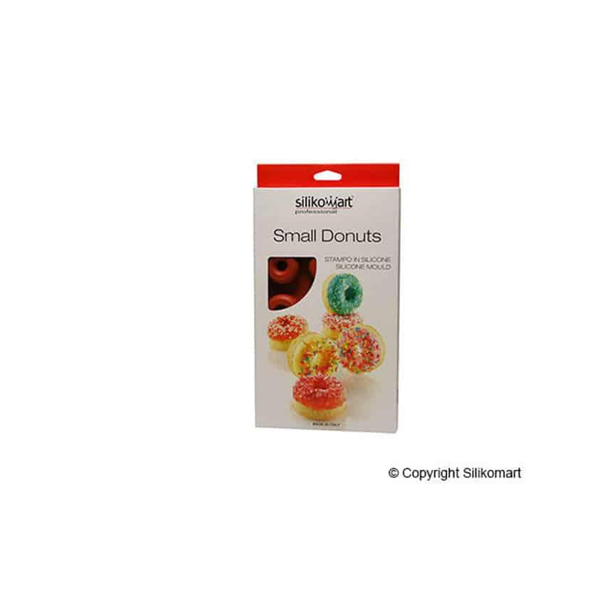 Stampo in silicone ciambelle piccole Small Donuts Silikomart SF171