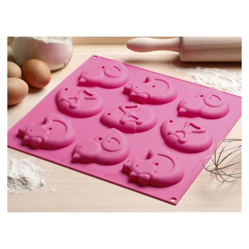 Stampo in silicone My Easter Cookies Silikomart HSH03A