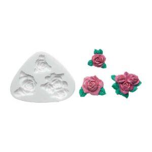 Stampo in silicone Rose Silikomart SLK139