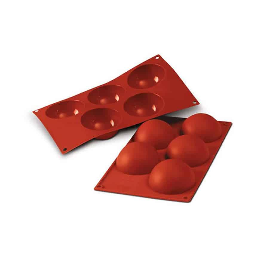 Stampo in silicone semisfere Half Sphere Silikomart SF001