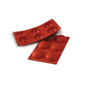 Stampo in silicone semisfere Half Sphere Siliomart SF003
