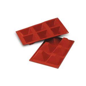 Stampo in silicone piramidi grandi Pyramids Silikomart SF007