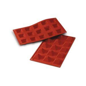 Stampo in silicone piramidi piccole Pyramids Silikomart SF008
