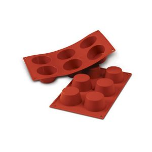 Stampo in silicone muffin medio Medium Muffin Silikomart SF023
