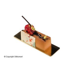 Stampo in silicone rettangoli Cakes Silikomart SF026
